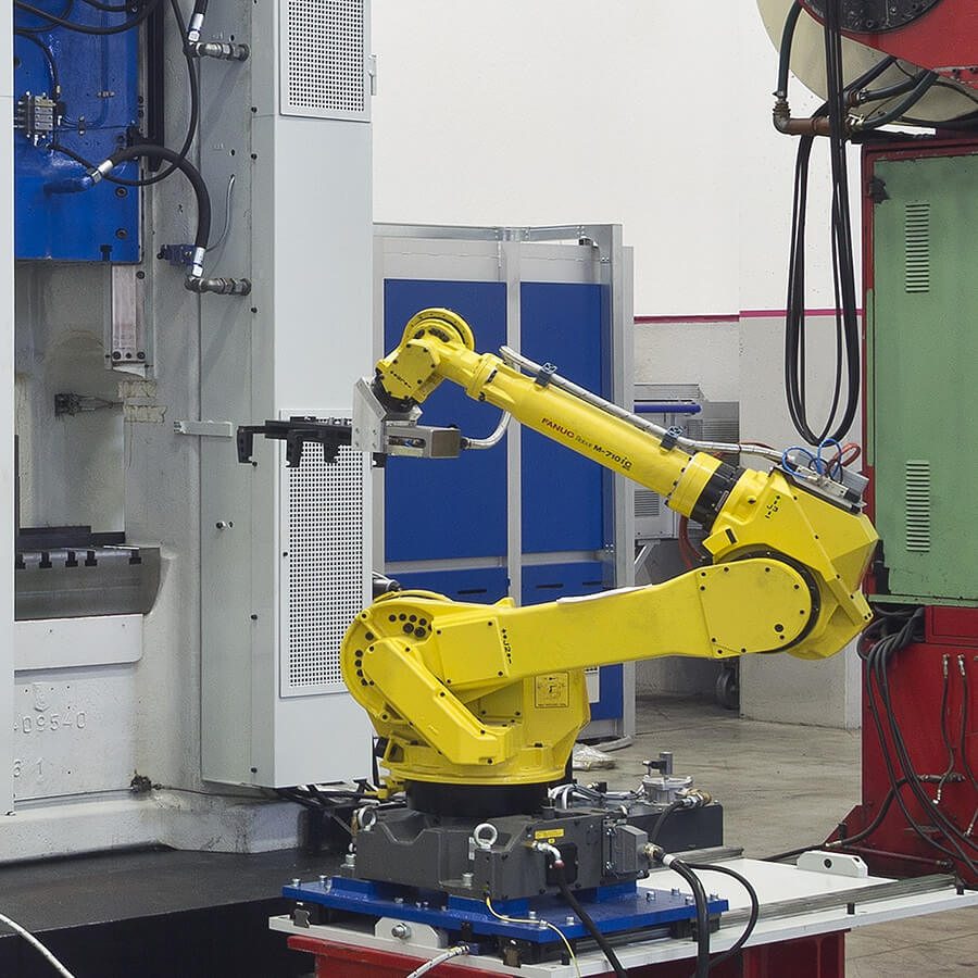 forging presses automation robot europe