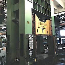 Hydraulic double column presses