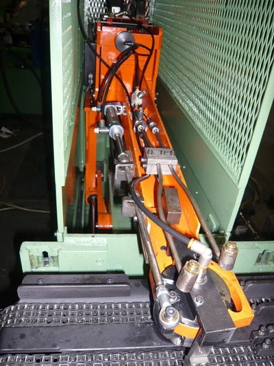 LINEAR LOADING ARM 700L Loading arms for presses