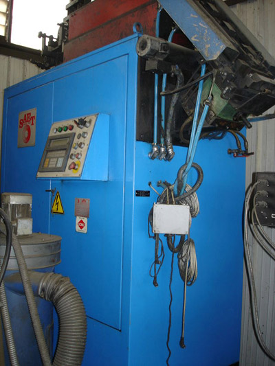 SAET KW 200 MOD. ISHP Induction furnaces