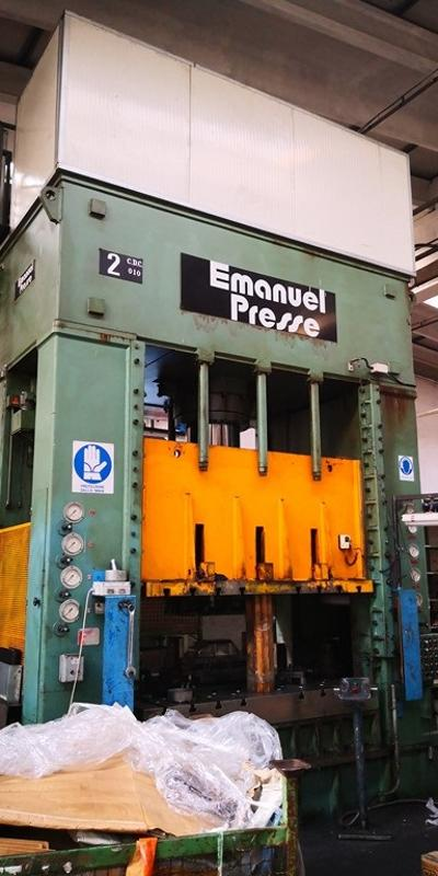 EMANUEL DEA 400 Hydraulic double column press