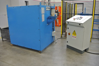 FPM 300 Grafitatore per billette ottone
