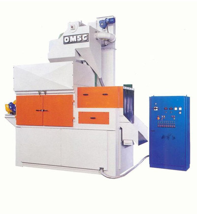 OMSG ROTOFLOW 200 Sand blasting and shot blast machines for forged parts