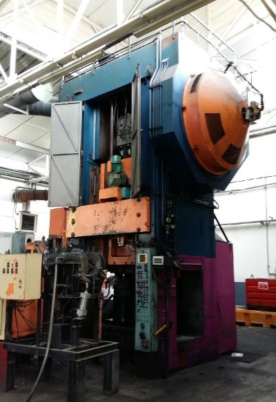 BRET PM 1250 Presses for hot forging of steel and titanium