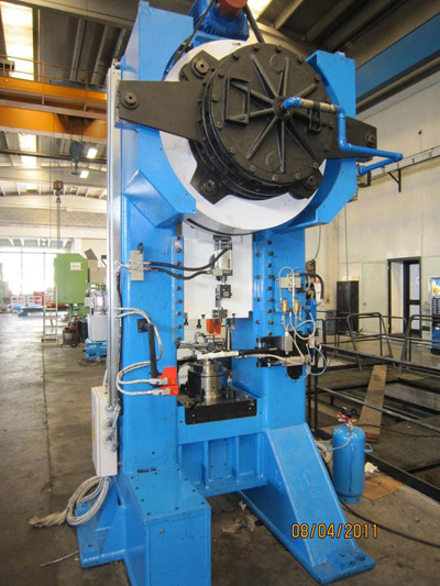 ROVETTA F-200/C Presses for hot forging of brass and aluminium