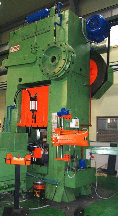 ROVETTA FO-400 Presses for hot forging of brass and aluminium
