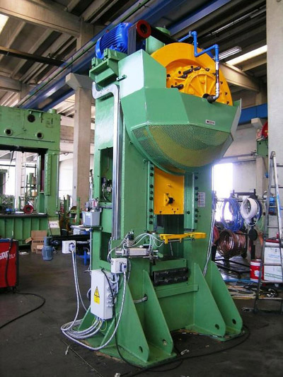 MECOLPRESS SOV/3 Presses for hot forging of brass and aluminium