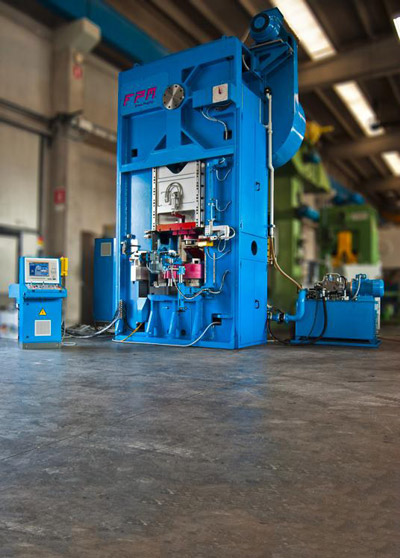 FPM BF-4000 Presses for hot forging of brass and aluminium