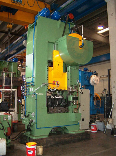 MECOLPRESS SEO/36CD Presses for hot forging of brass and aluminium