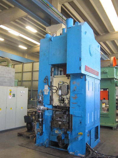 HYDROMEC HF2500/C Presses for hot forging of brass and aluminium
