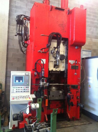HYDROMEC HF 3000/D Presses for hot forging of brass and aluminium