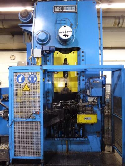 MECOLPRESS SEO/4F Presses for hot forging of brass and aluminium