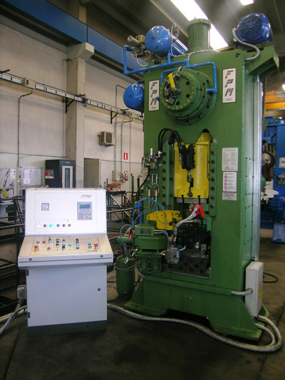 MECOLPRESS SOV/2 Presses for hot forging of brass and aluminium