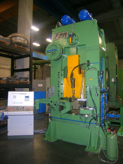MECOLPRESS SEO/2 Presses for hot forging of brass and aluminium