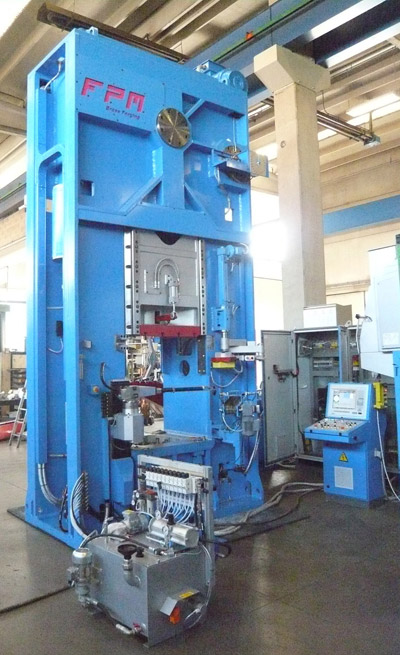 FPM BF-4500 Presses for hot forging of brass and aluminium