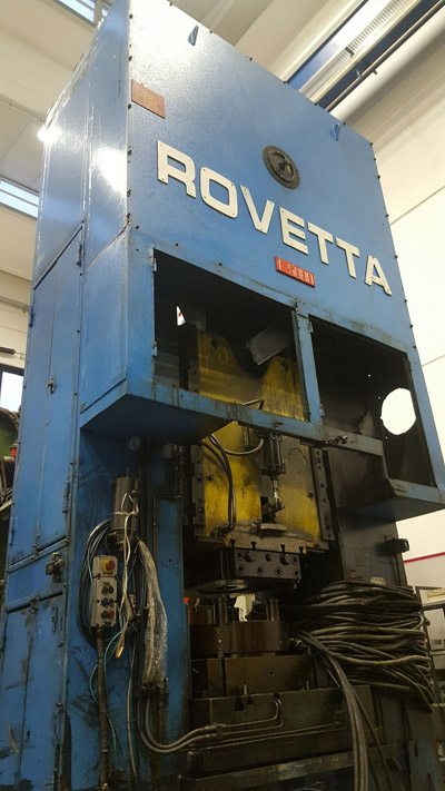 ROVETTA F-5000 Presses for hot forging of brass and aluminium