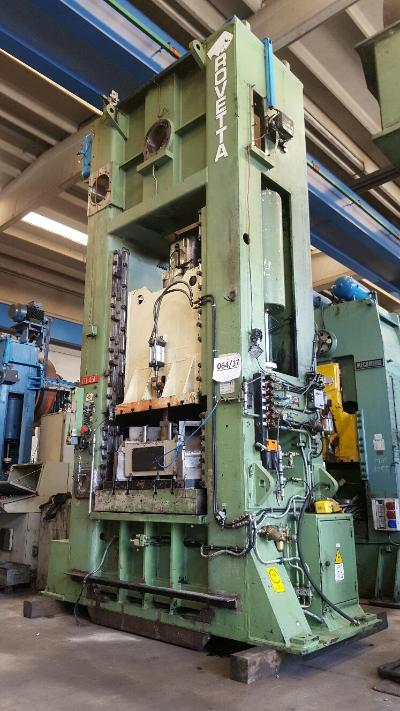 ROVETTA FO-450 Presses for hot forging of brass and aluminium