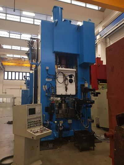 HYDROMEC HF3600 Presses for hot forging of brass and aluminium