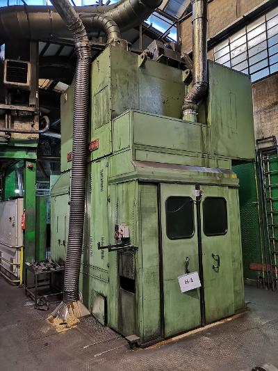 HYDROMEC HF 3600 Presses for hot forging of brass and aluminium