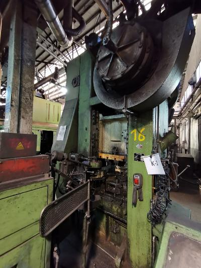 ROVETTA SF2000 Presses for hot forging of brass and aluminium