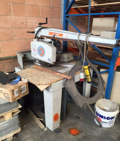 MAGGI BIG800 Sawing machine for brass and aluminium bar