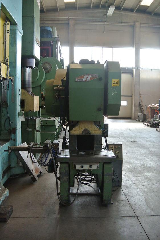 Used - Mechanical c-frame press for cold stamping - RAIMONDI PRESSE ...
