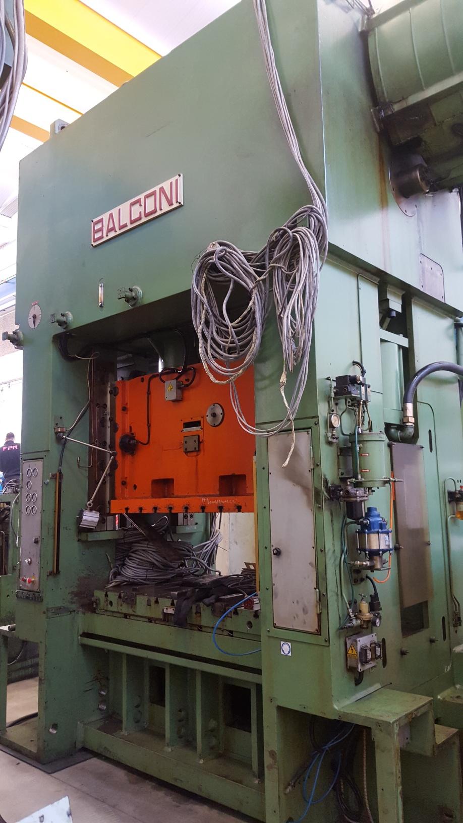 Pressa meccanica doppio montante usata per stampaggio for Presse idrauliche usate per officina